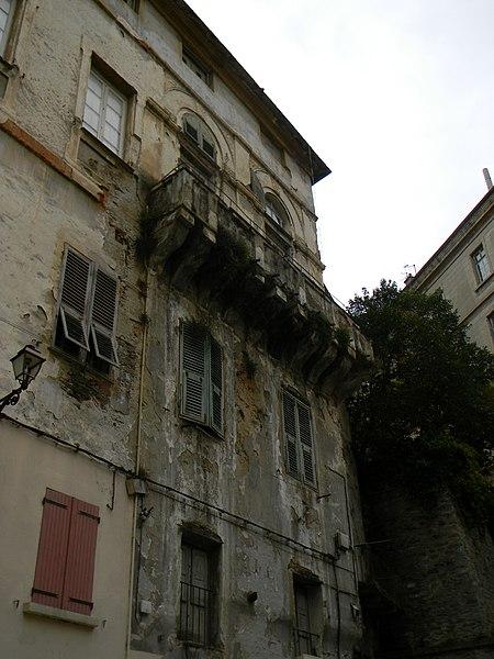 Photo du Monument Historique Maison de Caraffa ou ensemble immobilier dit maison de Caraffa situé à Bastia