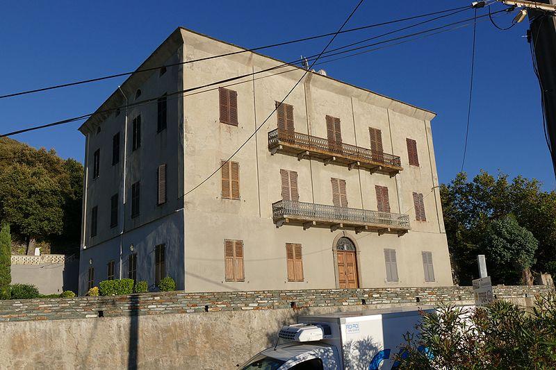 Photo du Monument Historique Château Fantauzzi situé à Morsiglia