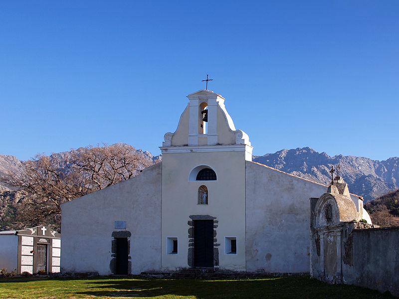 Photo du Monument Historique Chapelle Saint-Jacques-le-Majeur (San-Giacomo) situé à Muro