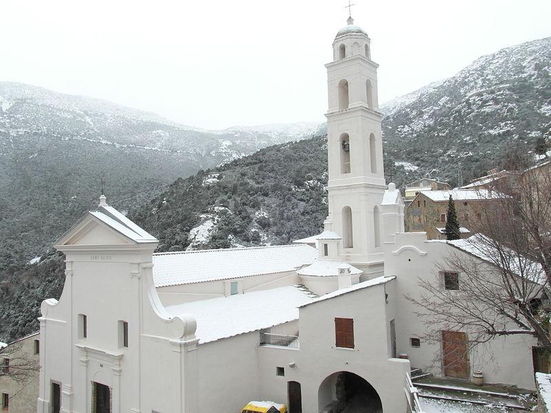 Photo du Monument Historique Eglise paroissiale Notre-Dame-de-l'Annonciation (Santa-Maria-Assunta) situé à Palasca