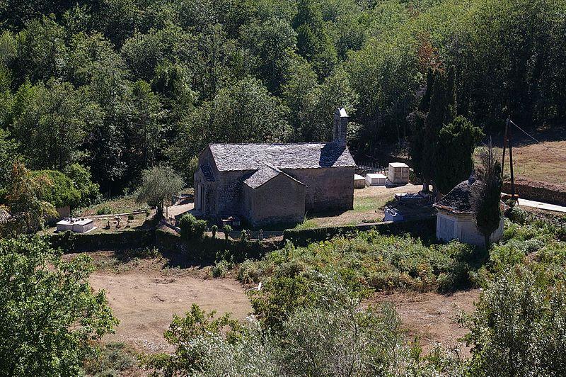 Photo du Monument Historique Eglise Saint-Blaise situé à Poggio-Marinaccio
