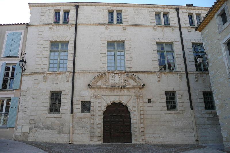 Photo du Monument Historique Hôtel Sauvan ou de Choisity situé à Aramon