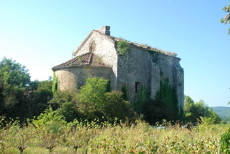 Photo du Monument Historique Chapelle Saint-Martin-de-Saduran situé à Bagnols-sur-Cèze