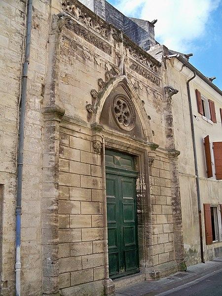 Photo du Monument Historique Eglise Saint-Paul, ancienne église des Cordeliers situé à Beaucaire