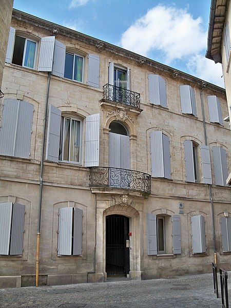 Photo du Monument Historique Hôtel situé à Beaucaire