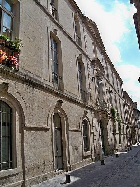 Photo du Monument Historique Maison situé à Beaucaire