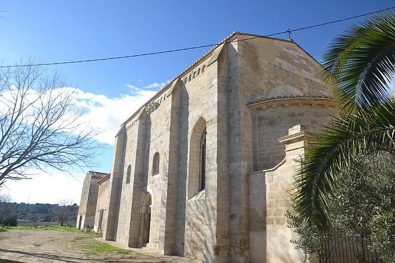 Photo du Monument Historique Ancien prieuré Saint-Vincent-de-Broussan situé à Bellegarde