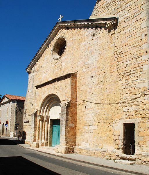 Photo du Monument Historique Eglise paroissiale Saint-André situé à Bernis