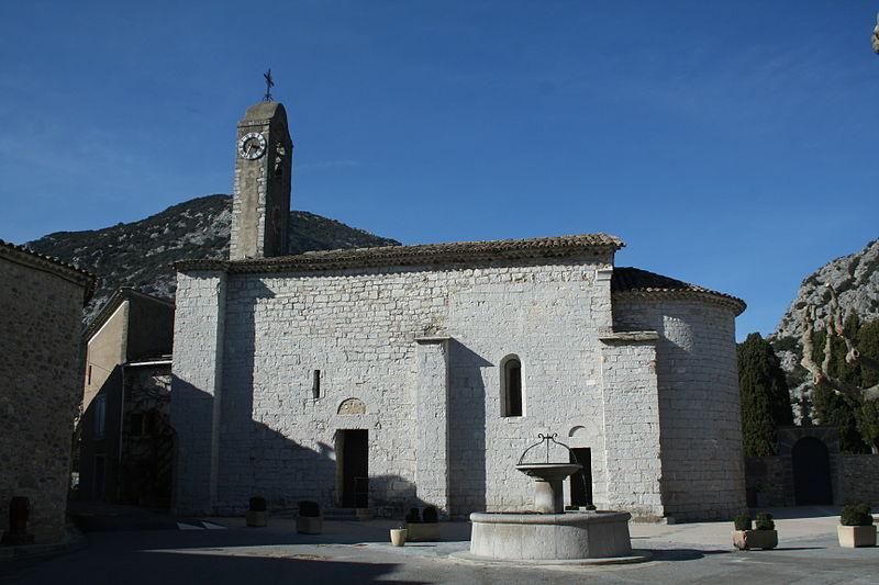 Photo du Monument Historique Eglise Saint-Michel de la Cadière situé à La Cadière-et-Cambo