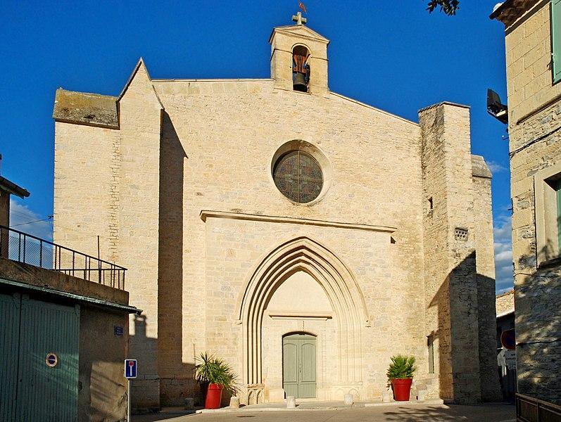Photo du Monument Historique Eglise Saint-Saturnin situé à Calvisson