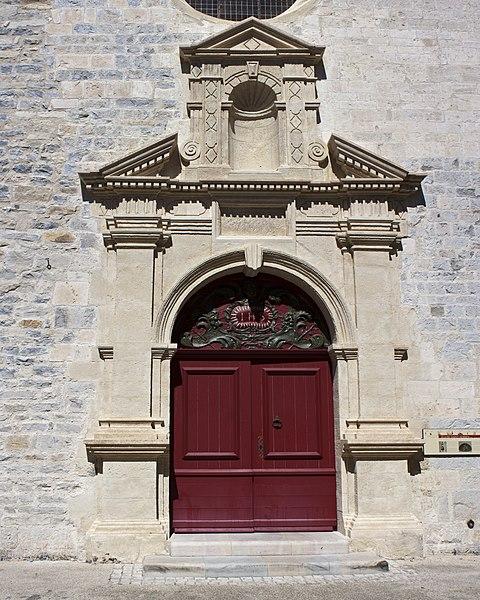 Photo du Monument Historique Eglise Saint-Adrien situé à Caveirac