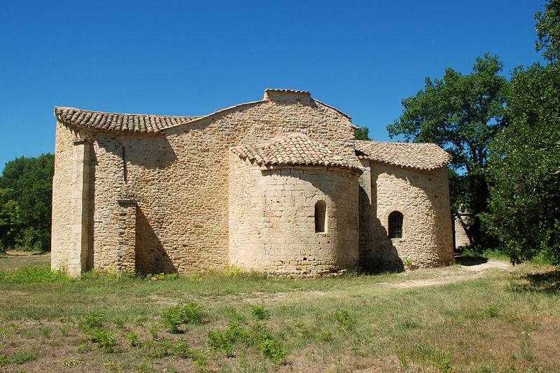 Photo du Monument Historique Ermitage Notre-Dame-du-Saint-Sépulcre situé à Cavillargues