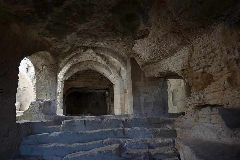 Photo du Monument Historique Site archéologique de Saint-Roman d'Aiguille (également sur commune de Beaucaire) situé à Comps