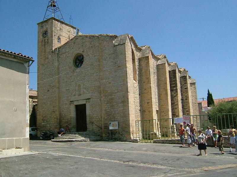 Photo du Monument Historique Eglise Sainte-Marie situé à Congénies