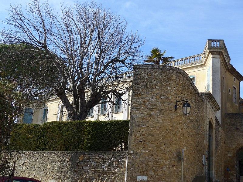 Photo du Monument Historique Château situé à Gaujac