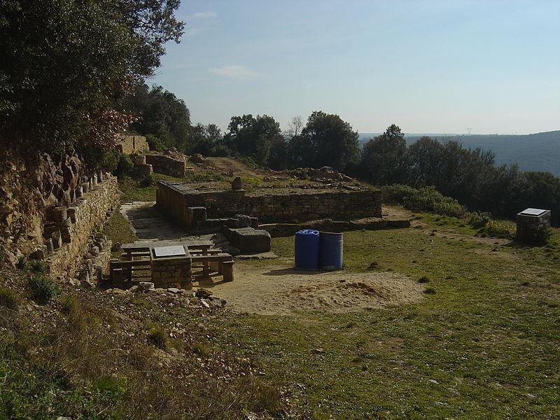 Photo du Monument Historique Oppidum préromain et gallo-romain situé à Gaujac