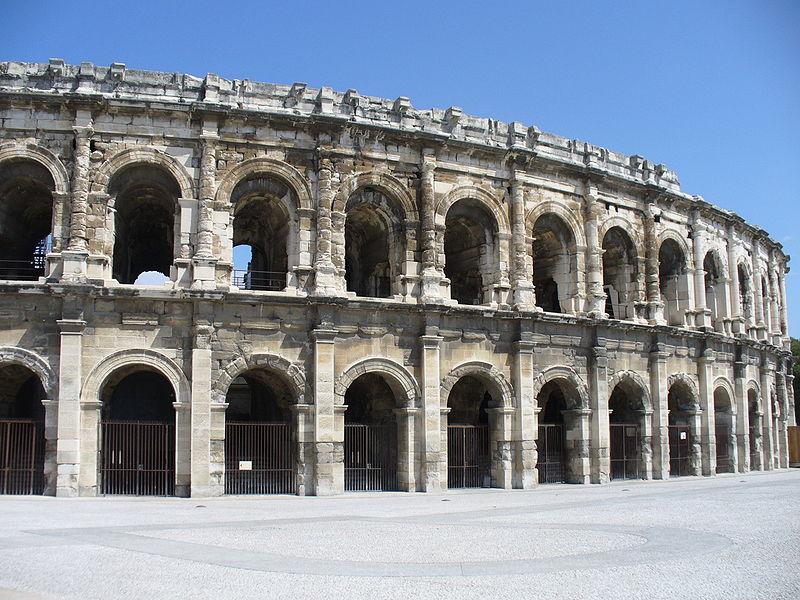 Photo du Monument Historique Amphithéatre ou Arènes situé à Nîmes