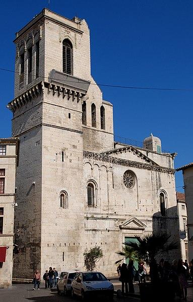 Photo du Monument Historique Cathédrale Notre-Dame et Saint-Castor situé à Nîmes