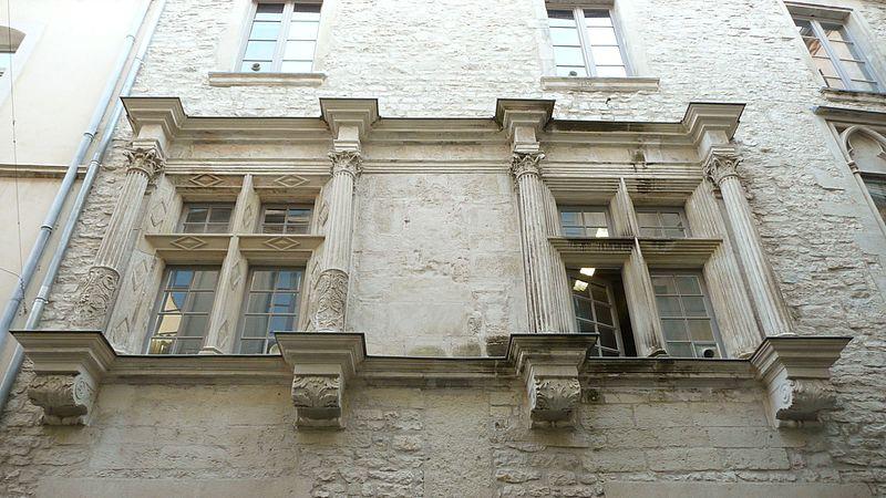 Photo du Monument Historique Hôtel de ville situé à Nîmes