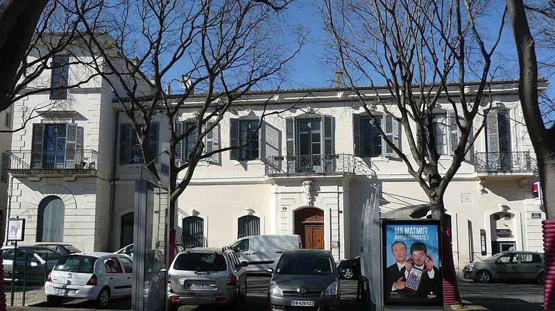 Photo du Monument Historique Immeuble, dit hôtel de Lagorce situé à Nîmes