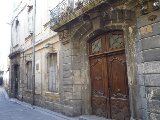 Photo du Monument Historique Hôtel Meynier de Salinelles dit Hôtel Boudon situé à Nîmes