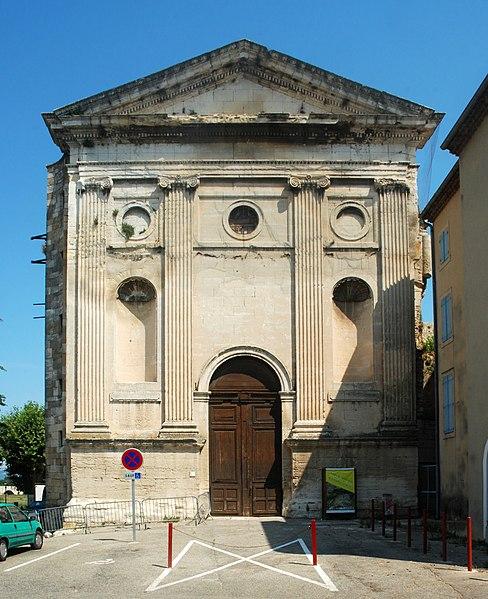 Photo du Monument Historique Ancienne église Saint-Pierre situé à Pont-Saint-Esprit