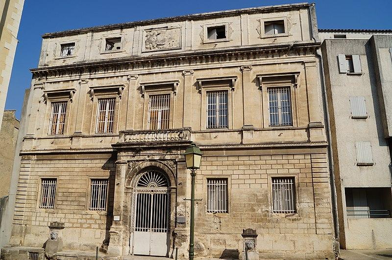 Photo du Monument Historique Ancien hôtel de Lisleroy situé à Pont-Saint-Esprit