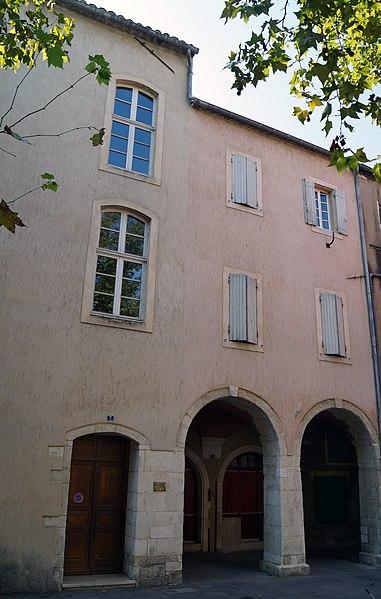 Photo du Monument Historique Maison situé à Pont-Saint-Esprit