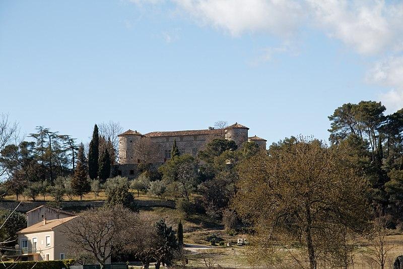 Photo du Monument Historique Château situé à Rousson