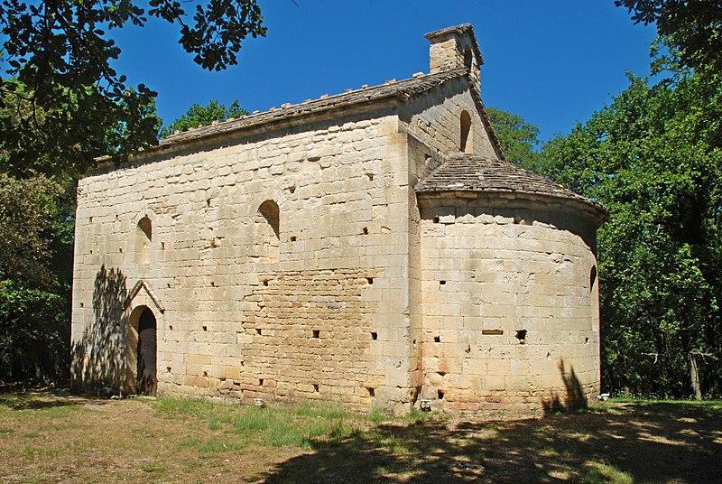 Photo du Monument Historique Ancienne chapelle Saint-Symphorien-de-Boussargues situé à Sabran