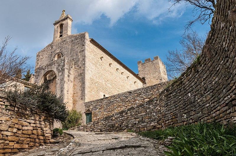 Photo du Monument Historique Eglise Saint-Bonnet situé à Saint-Bonnet-du-Gard