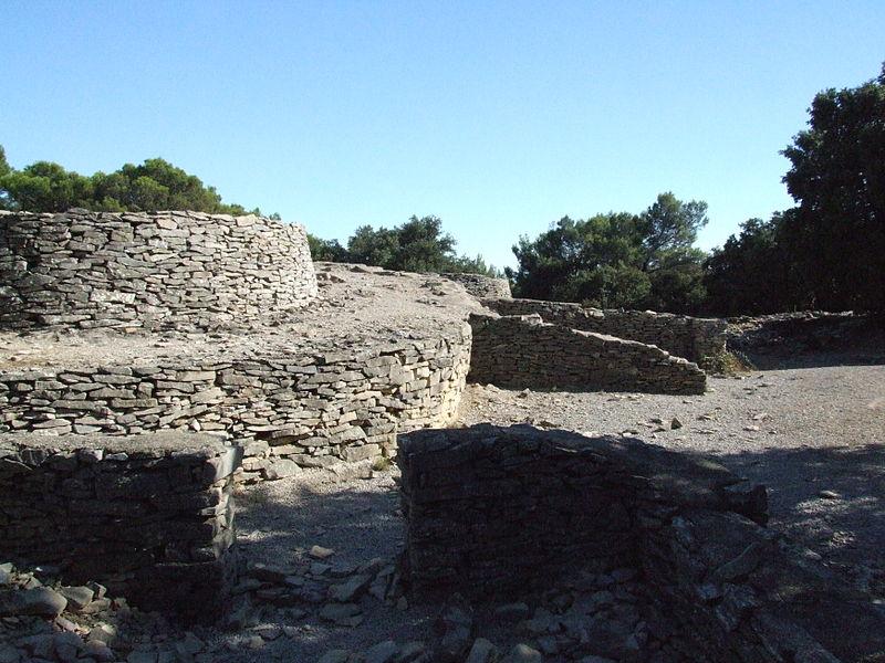Photo du Monument Historique Oppidum de Roque de Viou (également sur commune de Nages-et-Solorgues) situé à Saint-Dionizy