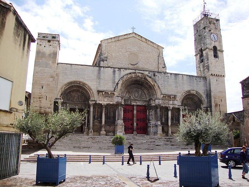 Photo du Monument Historique Eglise Saint-Gilles situé à Saint-Gilles