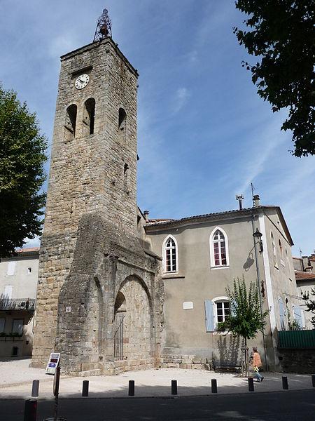 Photo du Monument Historique Ancienne église situé à Saint-Jean-du-Gard