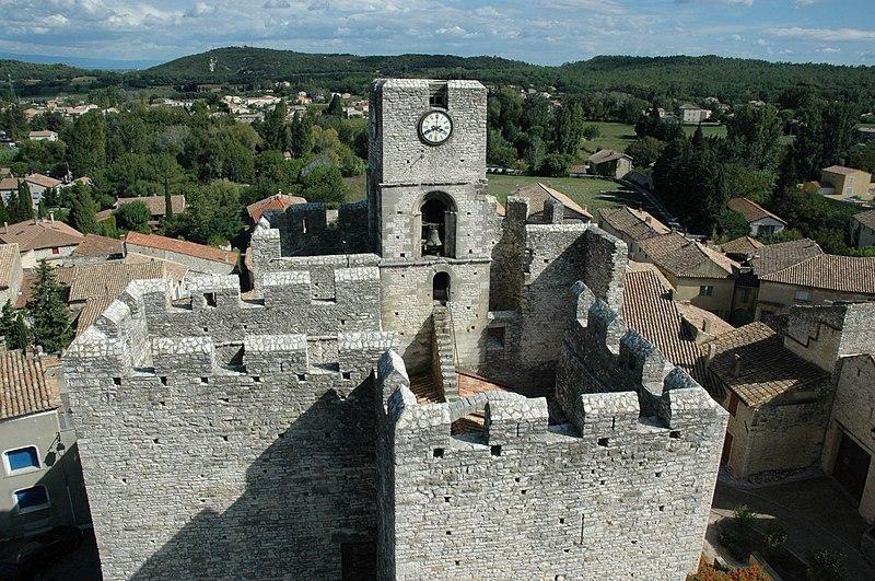 Photo du Monument Historique Remparts situé à Saint-Laurent-des-Arbres