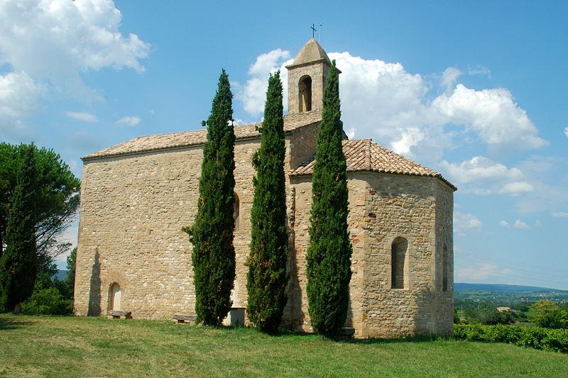 Photo du Monument Historique Chapelle Sainte-Agnès situé à Saint-Paulet-de-Caisson