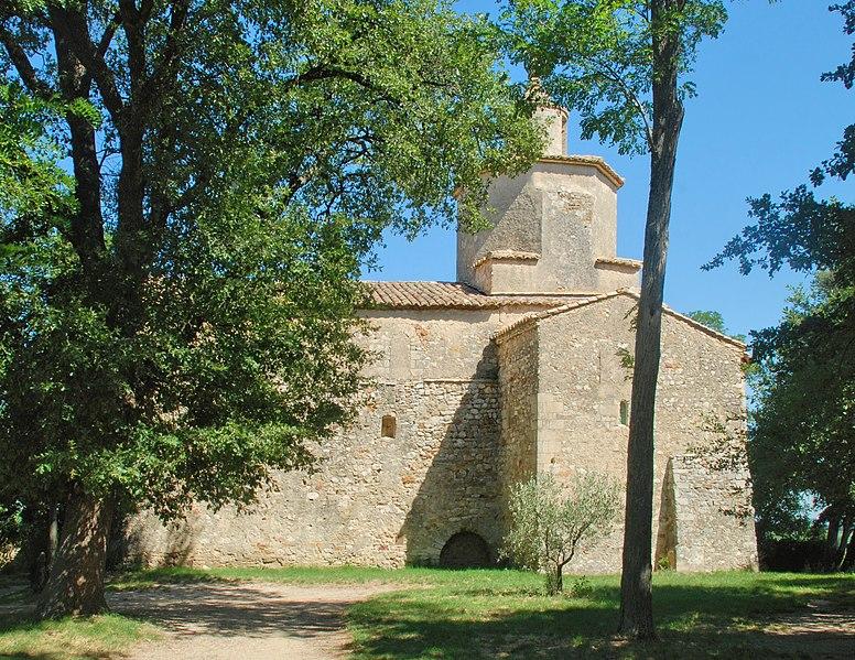 Photo du Monument Historique Chapelle Notre-Dame-de-Mayran situé à Saint-Victor-la-Coste