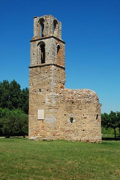 Photo du Monument Historique Ruines de la chapelle Saint-Martin situé à Saint-Victor-la-Coste