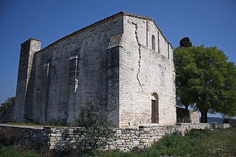 Photo du Monument Historique Chapelle Saint-Julien de Montredon situé à Salinelles