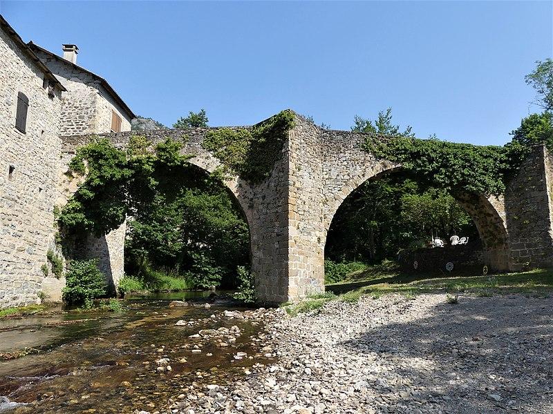 Photo du Monument Historique Vieux pont de Trèves situé à Trèves