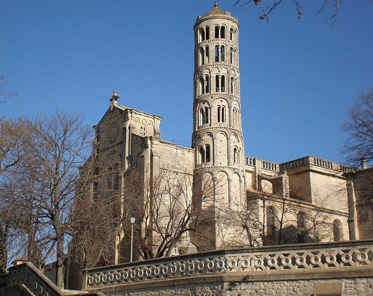 Photo du Monument Historique Ancienne cathédrale Saint-Théodorit situé à Uzès