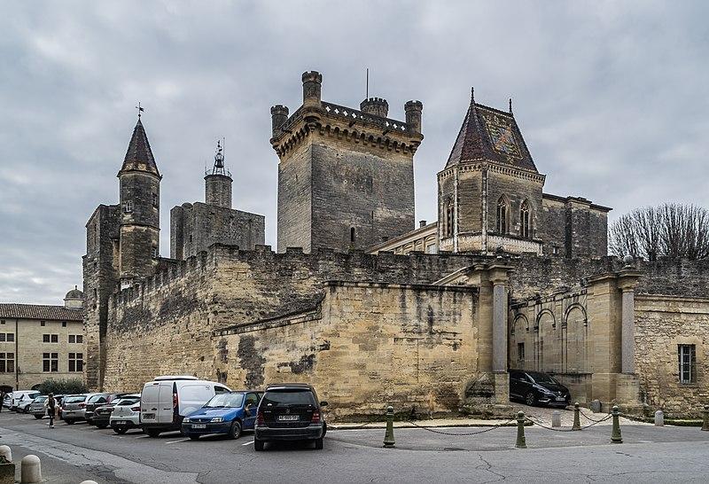 Photo du Monument Historique Château dit Le Duché situé à Uzès