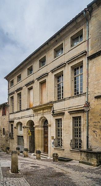 Photo du Monument Historique Hôtel situé à Uzès