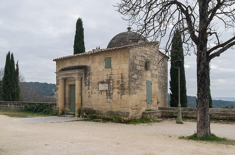 Photo du Monument Historique Pavillon Racine situé à Uzès