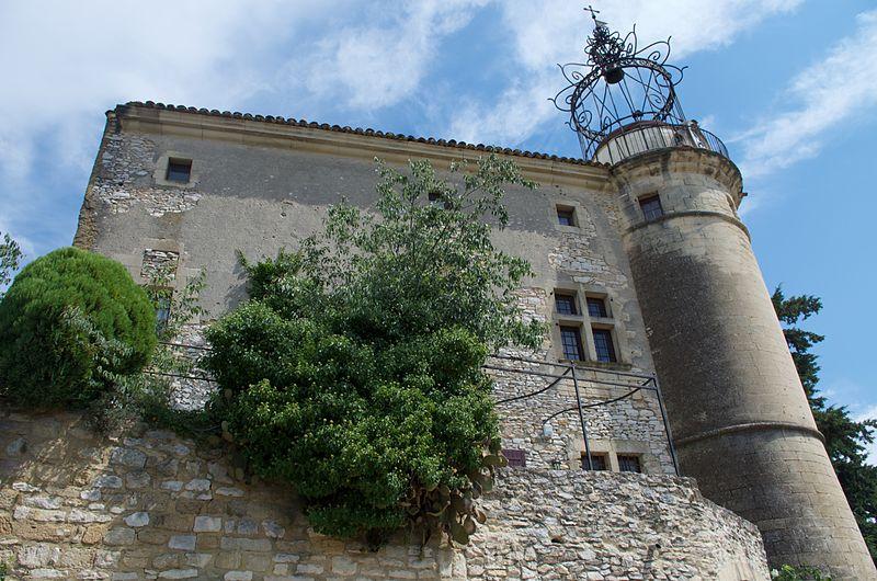 Photo du Monument Historique Ancien château situé à Valliguières