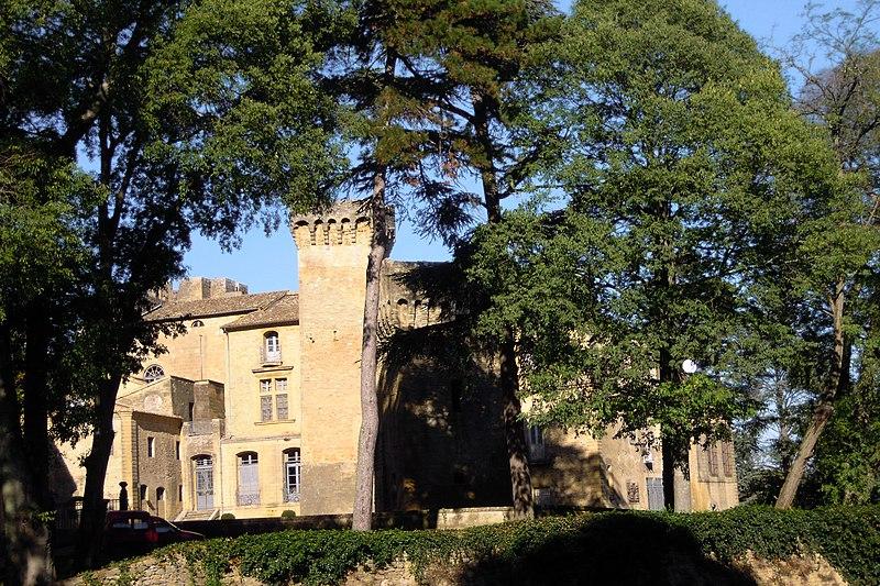Photo du Monument Historique Domaine de Saint-Privat situé à Vers-Pont-du-Gard