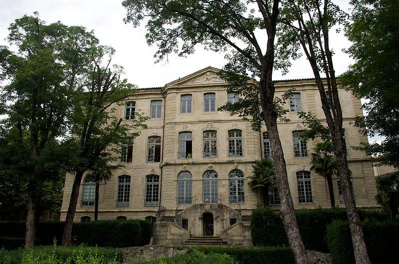 Photo du Monument Historique Ancien hôtel de Faventines dit Château d'Assas situé à Le Vigan