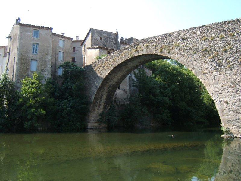 Photo du Monument Historique Vieux pont situé à Le Vigan