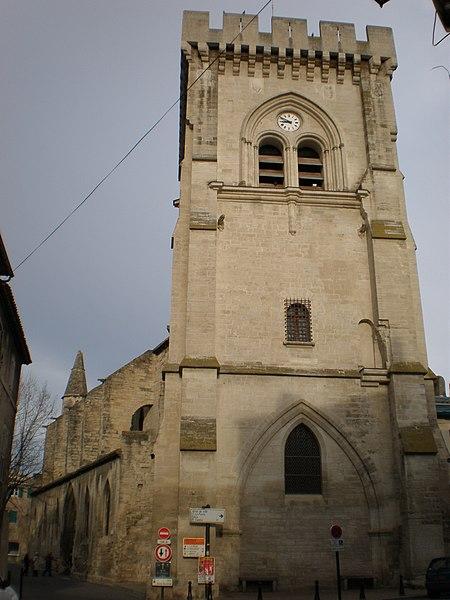 Photo du Monument Historique Eglise Notre-Dame situé à Villeneuve-lès-Avignon