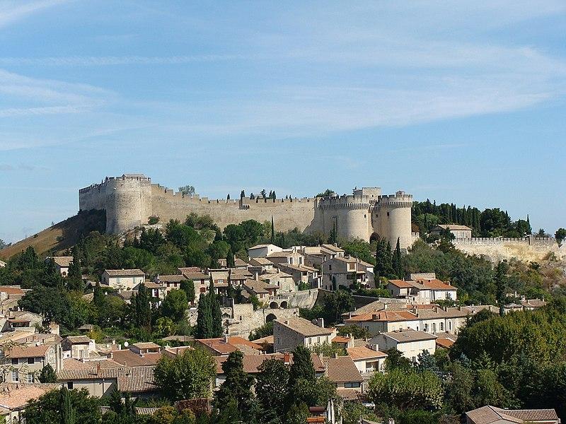 Photo du Monument Historique Fort Saint-André (ancien château) situé à Villeneuve-lès-Avignon